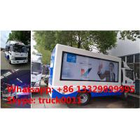 China 2020s best price high quality Mobile LED advertising truck for VIVO Mobile Phone for sale, FAW P6 LED billboard truck on sale