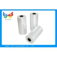 78% Transparent PETG TDO 45mic HS Shrink Sleeve Labeling Film Rolls For Bottle Manufactures