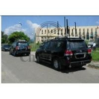 Shockproof Wideband GPS signal jammer , Vehicle RF Jamming System For Military Camp Manufactures