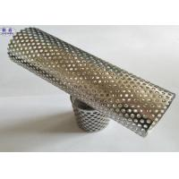China SX-7 Perforated Stainless Steel Cylinder Singer / Multi LayersLong Service Life on sale