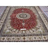 China 100% Handmade Pure Silk Persian Design Carpet, Rug on sale