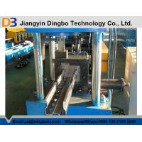 Galvanized Coil / Carbon Steel Upright Rack Roll Forming Machine for 1.5-2.5MM Thickness Manufactures