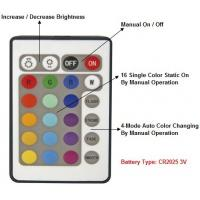 E27 AC100-240v RGB Colour Changing Led Bulb Replacement - No Remote Manufactures