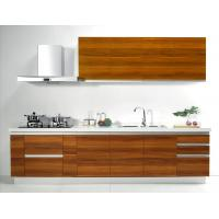 Quartz wood kitchen cabinets For LOFT House / Three Meters MFC Kitchen Cabinets Manufactures