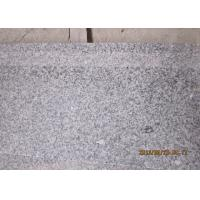 G603 Honed Natural Stone Steps Crystal White Granite Stair Treads And Risers Manufactures