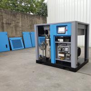40bar 4Mpa screw air compressor 100% oil free PET screw air compressor Manufactures