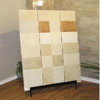 Sturdy Slab Stone / Ceramic Tile Display Racks With Steel Tube Manufactures