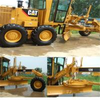 Cat Motor Grader for large-scale land leveling in foundation constructions Manufactures