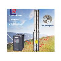 3inch AC220V DC220V Brushless high-speed solar water pump with permanent magnet synchronous motor for home and farm Manufactures