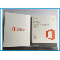 China Microsoft Office 2016 Home And Business for MAC Software PKC / Retail Version on sale