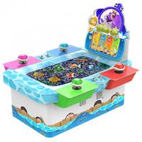 China Arcade Coin Operated Fishing Game Machine Metal + Acrylic + Plastic Material on sale
