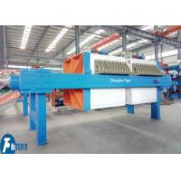 30m2 Industrial Filter Press 870mm PP Plate Type For Electroplating Wastewater Plant Manufactures