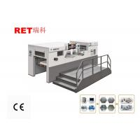 3 Foil Groups Hot Foil Stamping Machine YW-105SE For Paper Cards Figure Manufactures