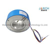 380V 4 ~ 72 Conductors 90mm Through Bore High Voltage Slip Rings For Wrapping Machinery Max Speed:500RPM Manufactures
