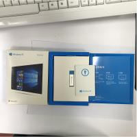 China FPP Key Online Activation Windows 10 Operating System 3.0 USB Flash Drive With Key Code Card on sale