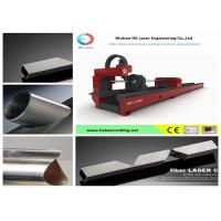 Stainless Tube Cutting Laser Machine , Square Pipe Fiber Laser Cutting Equipment Manufactures