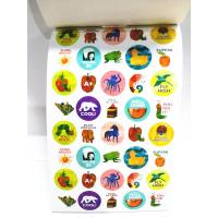 Bepoke Tiny Sticker Book Printing Service Childrens Studying Learning Manufactures
