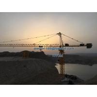 25T TC7550 75M Jib Arm Huge Topkit Types of Tower Cranes 5.0T Tip Load Manufactures