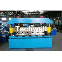 Automatical Steel Roof Wall Panel Roll Forming Machine With 13 - 20 Forming Station Manufactures