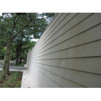 Buy cheap Wood Look Fiber Cement Panel Siding Modern Building Material For Wall Decoration from wholesalers