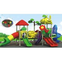 beautiful daycare outdoor equipment plastic outdoor playground equipment Manufactures