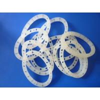 White Silicone Rubber Ring Gasket , Silicone Gasket Ring With Personalized Size Manufactures