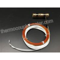 Brass Nozzle Coil Heaters With Metal Clap For Hot Runner Injection Mold Manufactures