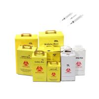 Yellow Color Medical Sharps Disposal , Sharps Waste Disposal Consumable Manufactures