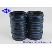 China DAS Hydraulic Piston Seals Combined Double Acting NBR POM TPE Material on sale