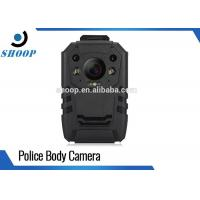 Digital Video Security Body Worn Police Cameras , Night Vision Body Camera With WiFi GPS Manufactures