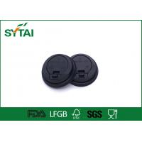 Biodegradable Eco - friendly Plastic Paper Cup Lids FOR Custom Printed Disposable Coffee Cups Manufactures