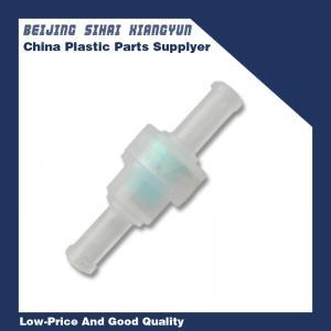 China Coffee Machine Inline Plastic Non Return Valve PP Flow Control Duckbill Check Valves on sale