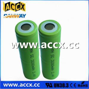 China battery pack 2.4v nimh sc 3000mAh nimb batteries rechargeable on sale