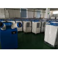 Quality Double Hose Portable Spot Air Conditioner 220V Single Phase High Efficiency for sale