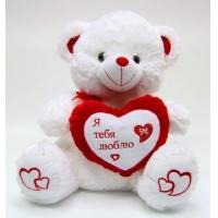 Lovely Valentines Day Stuffed Toys Small White Plush Teddy Bear For Premium Manufactures