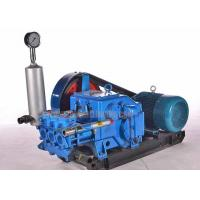 China High Pressure Triplex Drilling Mud Pump with Diesel / Hydraulic / Electric Powered on sale