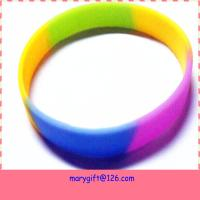Buy cheap supply hot item promotion gift Diy silicone bracelet from wholesalers
