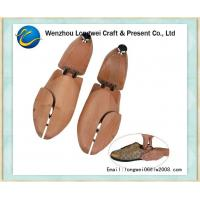 China Beech Wooden Shoe Stretcher Adjustable For Gentlemen's Leather Shoes on sale