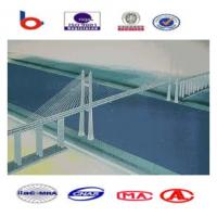 Quality Steel Cable Suspension Cable Stay Bridges High Strength for Large span for sale