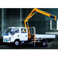 Durable Commercial Knuckle Boom Truck Mounted Crane , 3200kg 6.72 T.M Lifting Manufactures