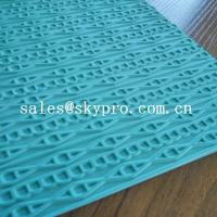 Customized eva+ rubber foam sheet for sole soft  with 3D pattern Manufactures