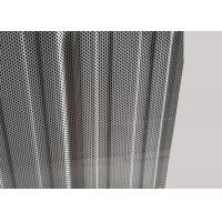 Mill Finish Perforated Aluminum Sheet With Perforated Holes / Wave Shapes Manufactures