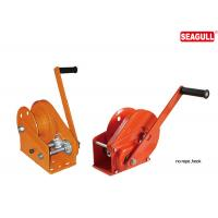 JC-C Automatic Brake Hand Lifting Winch Without Rope / Hook 1200 - 2600 lbs Capacity Manufactures