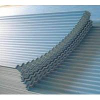 SGCC,DX51D, ASTM Zinc Coated Corrugated Roofing Sheet With PE / PVDF / PVC Guard Film Manufactures