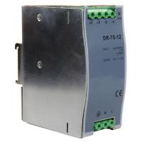 DR-75-12 75W 12V 6.3A DC Output Din Rail Switching Mode Power Supply Manufactures