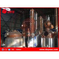 industrial alcohol membrane automatic distillation column process