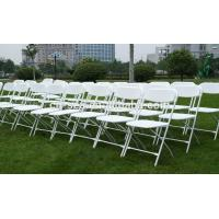 hot sale portable stackable PP plastic folding chairs for events Manufactures