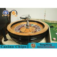 """Refined Russian Roulette Luxury Club Large Casino Special 32"""" Roulette Wheel Solid Wood Turntable with Resin Balls Manufactures"""