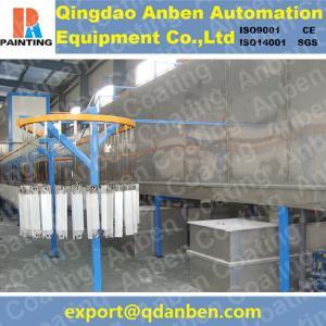 Aluminum electrostatic powder coating line Manufactures