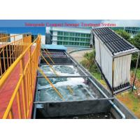 China Residential  , Industrial MBR Sewage Treatment Plant For Water Recycling on sale
